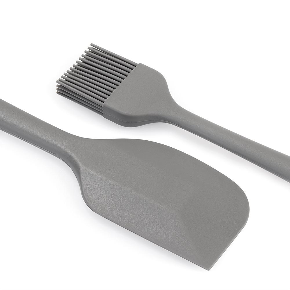 Backefix – Silikon Teigschaber & Backpinsel