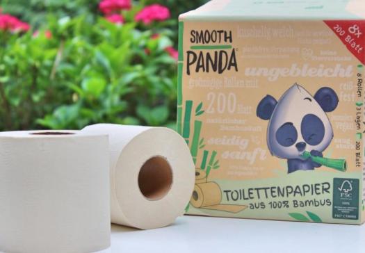 Bambus Toilettenpapier 8er Pack